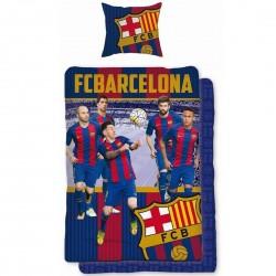 FCB Barcellona Set Copripiumino 140x200+ Federa 70x90