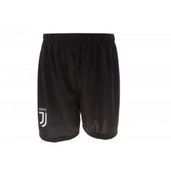 JUVENTUS FC Pantaloncini Replica Ufficiale Nuovo Logo colore nero  Stagione 2017/2018 Taglie M-L-XL