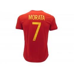 Spagna RFEF  MORATA 7 Maglia Calcio Ufficiale Taglie S-M-L-XL