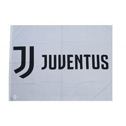 Juventus Bandiera grande logo nuovo  100x140 cm  Prodotto Ufficiale
