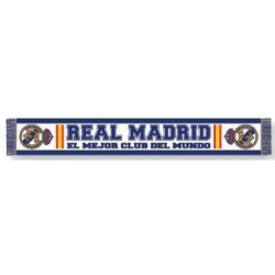 Real Madrid FC  Sciarpa Ufficiale Colore Blu