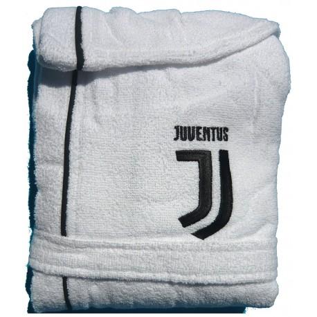 JUVENTUS F.C Accappatoio microspugna adulto Salvaspazio Nuovo Logo  Taglie M-L-XL-XXL