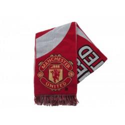 Manchester United FC Sciarpa Ufficiale Tifoso modello Jaquard