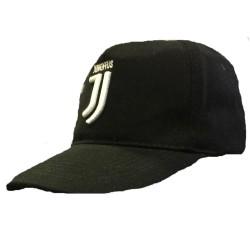 JUVENTUS FC Cappello Cappelino con  visiera Ufficiale Berretto nuovo logo JUVE JJ NERO