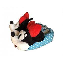 Minnie Disney Pantofole Moppine Minnie Fiocco Rosso  35/37- 37/39- 39/41 SFIZIOSA