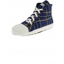 De Fonseca Pantofole Sneakers Blu scozzese Microfibra 41/42-43/44-45/46 SFIZIOSA