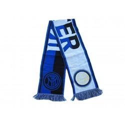 FC Inter Sciarpa Righe Colore nero azzurro