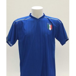 FIGC Maglia Replica Ufficiale Italia Neutra Senza nome e numero Adulto Taglie M-L-XL