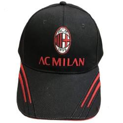 Cappello Milan con Visiera A.C.Milan Cappellino Baseball Uomo